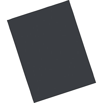 Pacon Riverside Construction Paper, 76 lbs., Black, 18 x 24, 50 Sheets/Pack