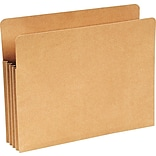 Wilson Jones® Letter Expanding File Pocket with 3-1/2 Expansion, Kraft Brown, Each