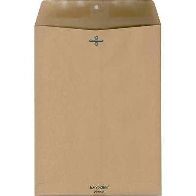 Ampad® Envirotec 100% Recycled Envelopes, 9 x 12, 110/Box