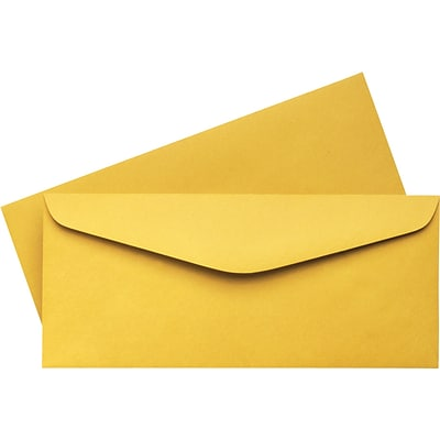 Quill Brand® Kraft Business Envelopes; #14, 5x11-1/2, 500/Box