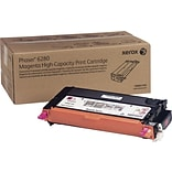 Xerox Phaser 6280 Magenta Toner Cartridge (106R01393); High Yield