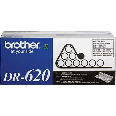 Brother DR 620 Black Drum Cartridge, Standard
