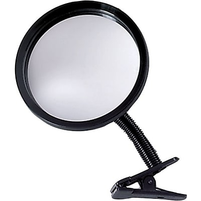 See-All® 7 Round Portable Clip-On Mirror