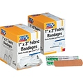 First Aid Only® Fabric Refill Bandages 1 x 3