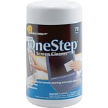 ReadRight OneStep Screen Cleaner, 75/Tub