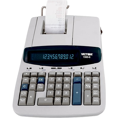 Victor® 1560-6 Professional-Grade Heavy-Duty Commercial Printing Calculator
