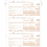 TOPS® 1099G Tax Form, 1 Part, Federal -- Copy A, White, 8 1/2 x 11, 50 Sheets per Pack