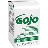 GOJO NXT Green Seal Certified Soap, Unscented, 1,000 ml, 8/Ct