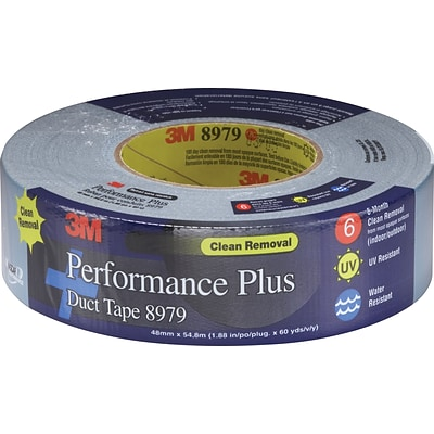 3M™ #8979 Duct Tape; Slate Blue, 2 x 25 yds., 12/Case