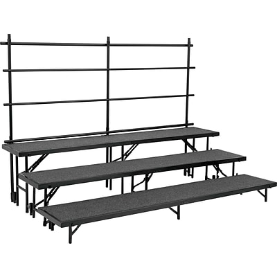 National Public Seating RT2LHB Portable Risers