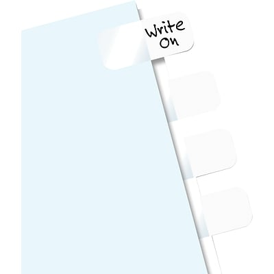 Redi-Tag® Write-On Plain Tabs; 104/Pack