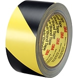 3M™ Safety/Caution Stripe Tape; Black/Yellow, 2in. x 36yd.