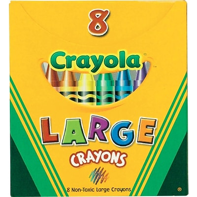 Crayola® Specialty Crayons, Large Size, 8/Box