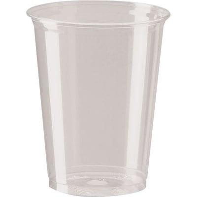 Dixie 16 oz. Clear Plastic Cold Cups, 500/Case (CP16DX)