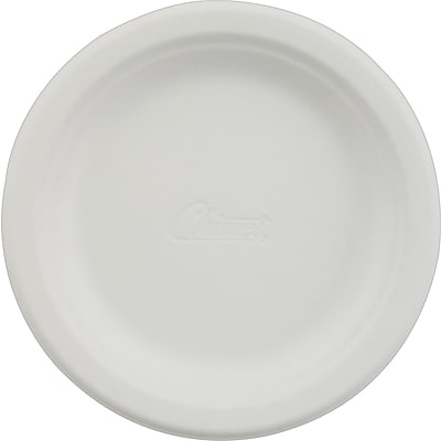 Chinet® Paper Plates, 8-3/4 White, 125/Pack, 4/CT