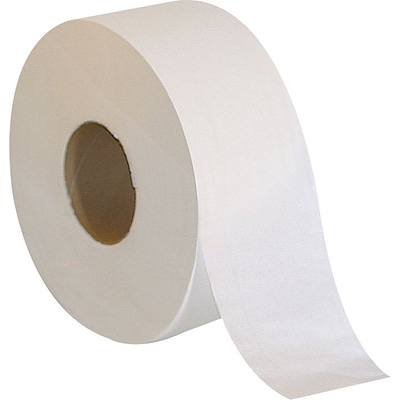 Coastwide Professional Jumbo Toilet Paper, 2-Ply, White, 1000 ft./Roll, 12 Rolls/Carton (CW26215)