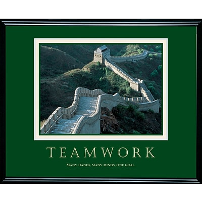 Teamwork - Great Wall Framed Motivational Print