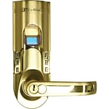 iTouchless Bio-Matic Fingerprint Door Lock Gold Color Right Handle