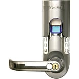 iTouchless Bio-Matic Fingerprint Door Lock Silver Color - Left Handle