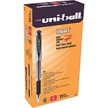 uni-ball® 207™ IMPACT™ Stick Gel Pens; Red