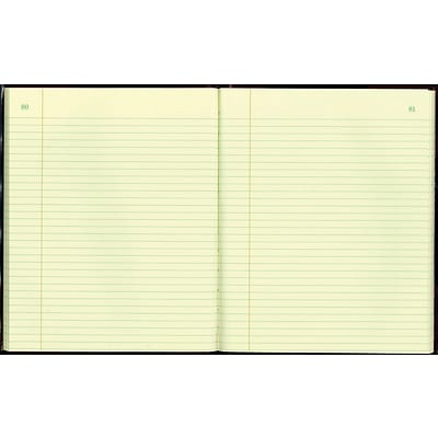 National® Texhide Series Record Book, 8-3/8 x 10-3/8, 150 Numbered Pages