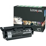 Lexmark X651A11A Black Toner Cartridge, Standard