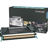 Lexmark Black Toner Cartridge (C734A1KG); Return Program