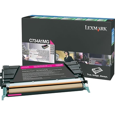 Lexmark Magenta Toner Cartridge (C734A1MG), Return Program