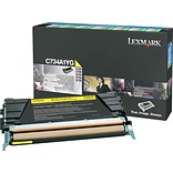 Lexmark Yellow Toner Cartridge (C734A1YG); Return Program