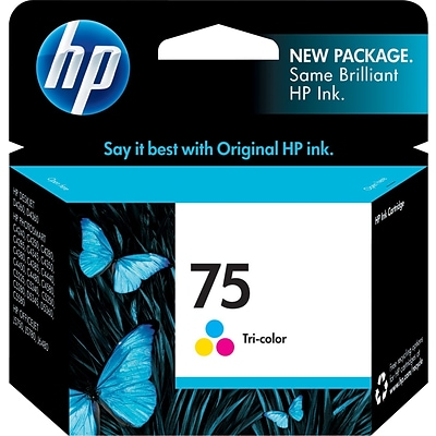 HP 75 Tricolor Ink Cartridge (CB337WN)