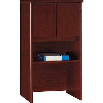 Bush Business Westfield 24W Hutch, Cherry Mahogany, Installed