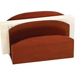 C.R. Gibson® Mahogany Birch Letter Holder