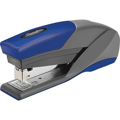 Swingline® LightTouch Reduced Effort Stapler, Fastening Capacity 20 Sheets/20 lb., Blue