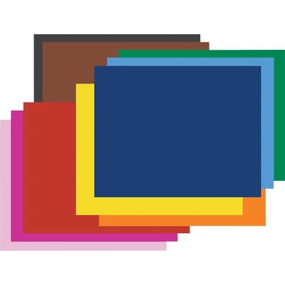 "Pacon® Poster Board Pack, 22""x 28"", 25 Sheets/Carton"