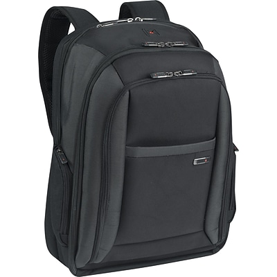 Solo® Checkfast™  Laptop Backpack, up to 16, Black