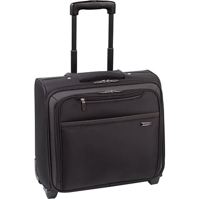 Solo Pro Rolling Overnighter Laptop Case, Black (CLA901-4)