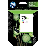 HP 78XL Tricolor Ink Cartridge (C6578AN); High Yield
