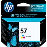 HP 57 Tri-Color Ink Cartridge, Standard Yield (C6657AN)