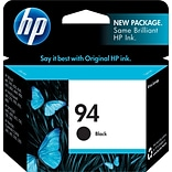 HP 94 Black Ink Cartridge, Standard, 24/Carton