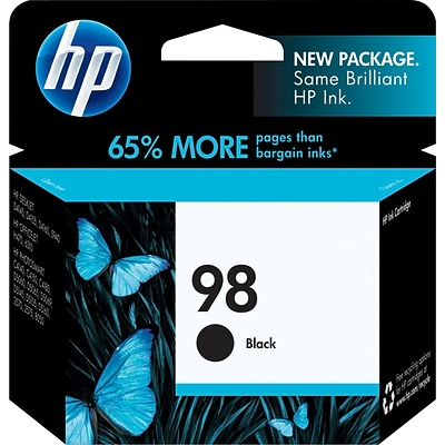 HP 98 Black Ink Cartridge (C9364WN)