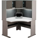 Bush® Cubix™ Series 36 Pewter Finish Desk