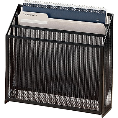 Eldon® Expressions™ Mesh Desk Accessories, 3-Tier Organizer
