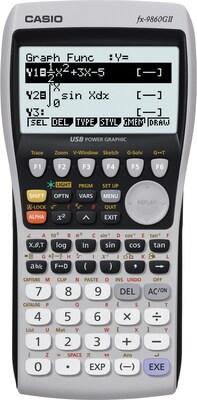 Casio FX 9860GII Grey Graphing Calculator