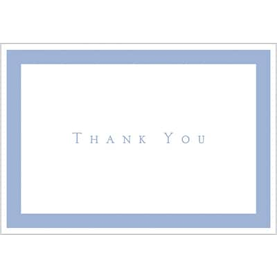 Great Papers® Periwinkle Thank You Note Cards with Envelopes