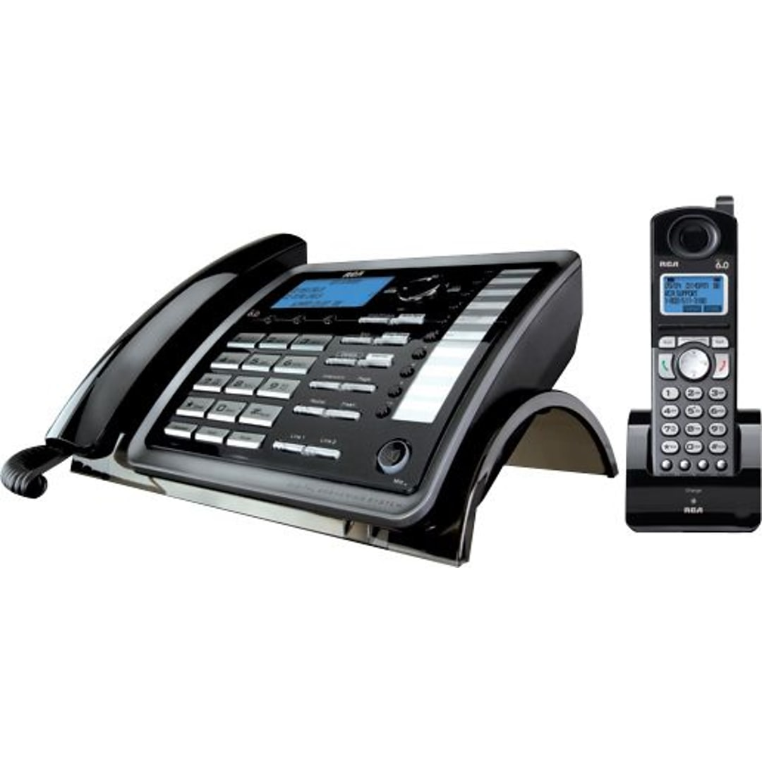 2 Line Corded Cordless Phone System Wireless Intercom Ac Power Systems Up To 1000 Smartbuy Purchases Can Benefit In Savings And Larger Pack Sizes