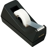 Scotch® Classic Desktop Tape Dispenser, Black, 1 Core, Made From 100% Recycled Plastic, 12 Dispense