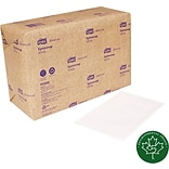 SCA White Dispenser Napkin, 1-Ply (Case of 12 Packs, 500/Pack, 6,000 Napkins)
