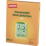Heavy-Duty Sheet Protectors, 200/Pack