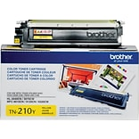 Brother Toner Cartridge; Yellow (TN210Y)