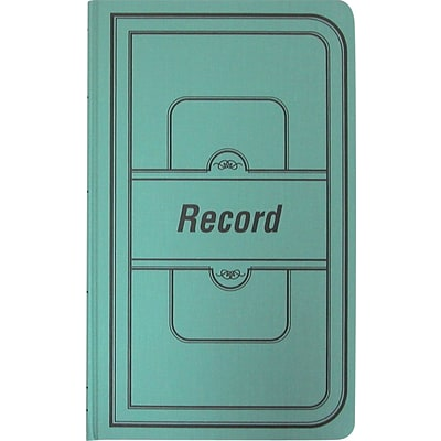 National® Brand Account Record Books, Record Ruled, 150 pages